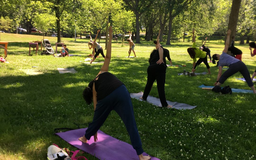 Building a Yoga Community within a Community